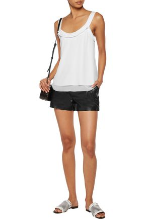 3.1 PHILLIP LIM Tiered silk crepe de chine top