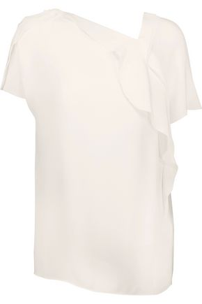 3.1 PHILLIP LIM Ruffled silk crepe de chine blouse