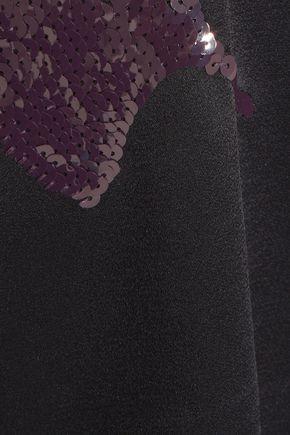 3.1 PHILLIP LIM Sequin-embellished satin top