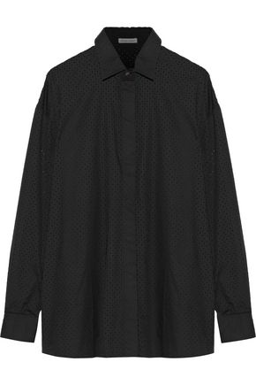 TOMAS MAIER Broderie anglaise cotton shirt