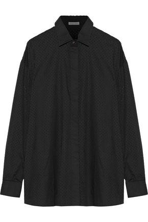 TOMAS MAIER Broderie anglaise cotton shirt