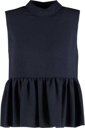 ROKSANDA Hamilton pleated twill top