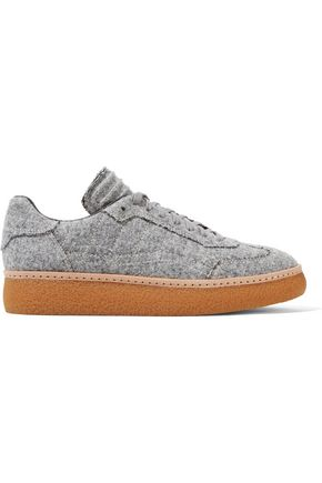 ALEXANDER WANG Eden felt sneakers