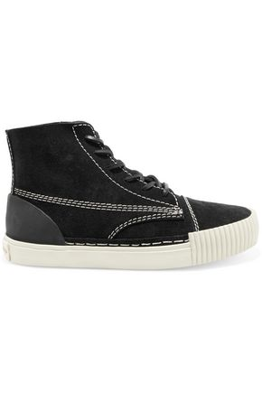 ALEXANDER WANG Suede high-top sneakers
