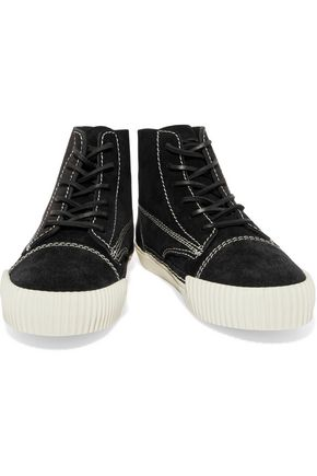 ALEXANDER WANG Suede high-top sneakers