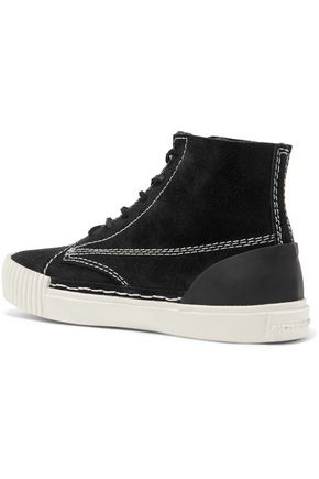ALEXANDER WANG Perry suede high-top sneakers