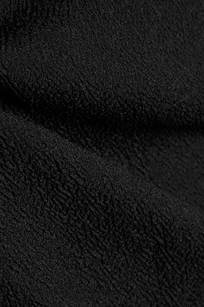 HALSTON HERITAGE Cutout stretch-silk top