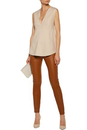 JOSEPH Curtis crepe top