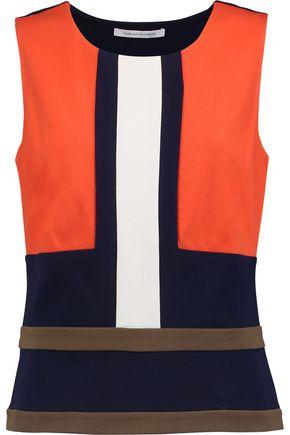 DIANE VON FURSTENBERG Spencer jersey top