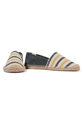 SOLUDOS Original Stripe striped canvas espadrilles