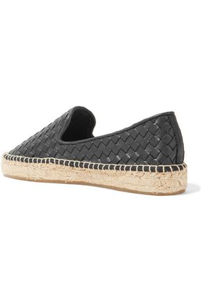 SOLUDOS Woven leather espadrilles
