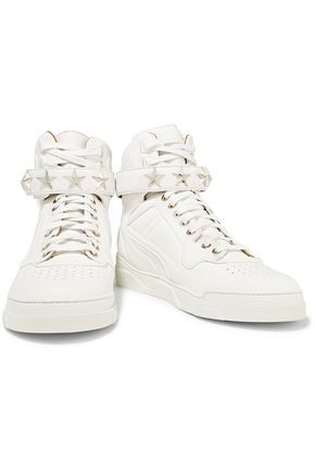 GIVENCHY Embellished leather sneakers