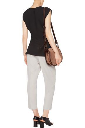 3.1 PHILLIP LIM Ruched crepe top