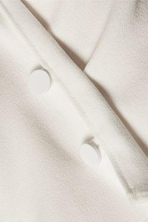 TIBI One-shoulder crepe top