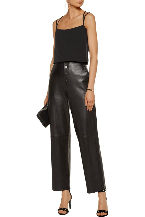 Emery cropped stretch-cady camisole   MILLY   Sale up to 70% off   THE  OUTNET