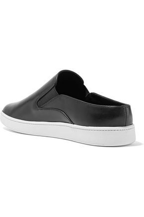 VINCE. Verrell leather slip-on sneakers
