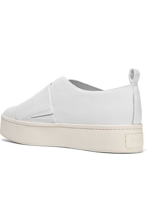 VINCE. Wallace leather platform sneakers