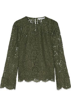 DIANE VON FURSTENBERG Yeva guipure lace top