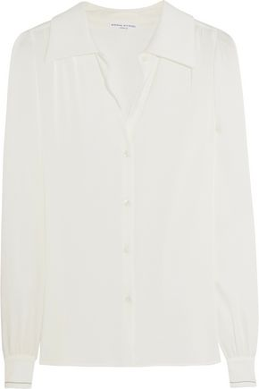 SONIA RYKIEL Satin-crepe blouse