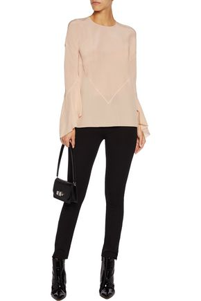 GIVENCHY Silk-crepe top