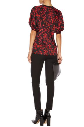 GIVENCHY Printed stretch-jersey top