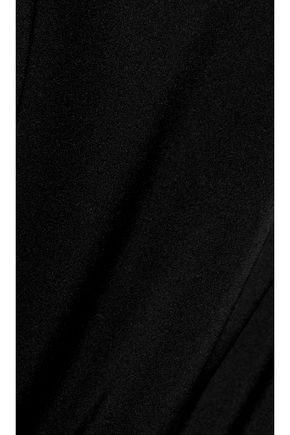 ELLERY The Lizzies cold-shoulder silk-blend top