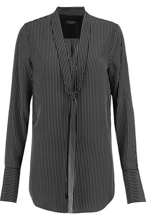 RAG & BONE Flora striped tunic