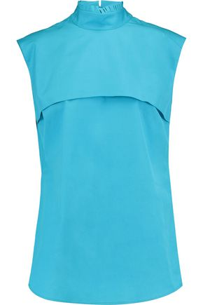 JIL SANDER Cotton-poplin blouse