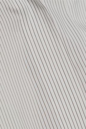 JIL SANDER Virna pinstriped silk shirt