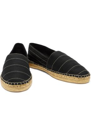 MARC JACOBS Sienna canvas espadrilles