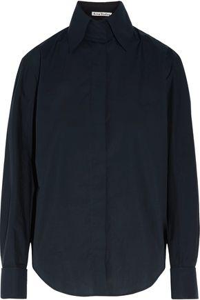 ACNE STUDIOS Slade Pop cotton-poplin shirt