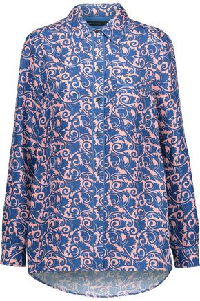 MARC BY MARC JACOBS Tootsie printed silk-satin shirt