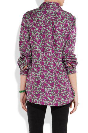 MARC BY MARC JACOBS Tootsie printed silk shirt