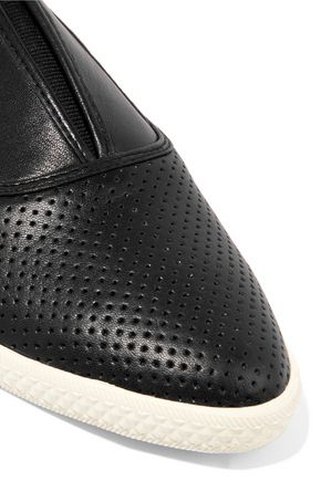 MARC BY MARC JACOBS Codie leather slip-on sneakers