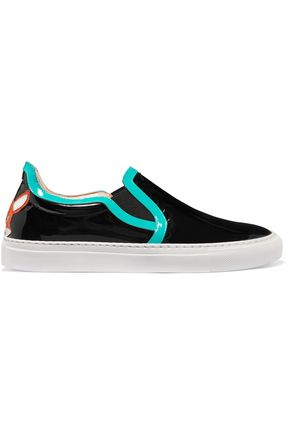 CAMILLA ELPHICK Foxy patent-leather sneakers