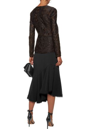 SACHIN & BABI Moira corded lace wrap top