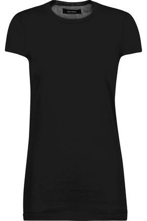 ISABEL MARANT Sepia cotton-blend T-shirt