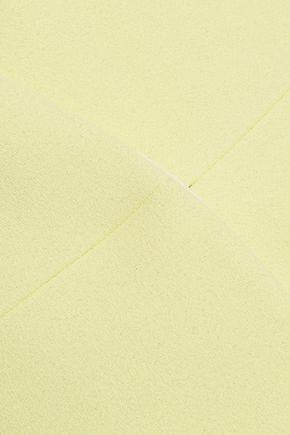 CARVEN Wrap-effect crepe top