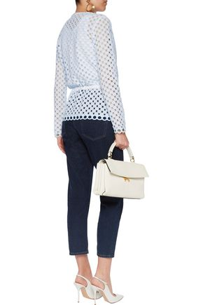 CARVEN Broderie anglaise cotton jacket