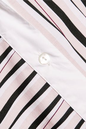 CARVEN Striped cotton shirt