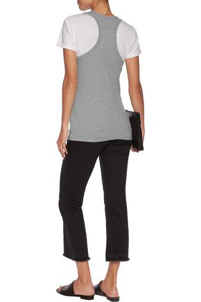 JAMES PERSE Cotton-blend jersey tank