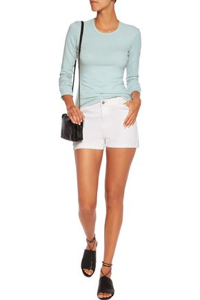 JAMES PERSE Cotton-blend jersey top