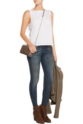 ENZA COSTA Pima cotton tank
