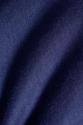 BAILEY 44 Lattice-paneled stretch-jersey top