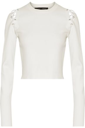 PROENZA SCHOULER Lace-up cady top