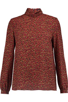 VANESSA SEWARD Printed silk blouse
