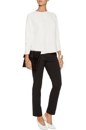 VINCE. Crepe de chine top