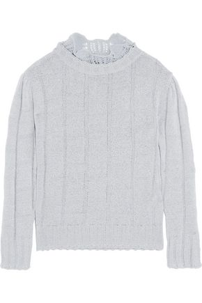 VIVIENNE WESTWOOD ANGLOMANIA Ruffled stretch-knit top