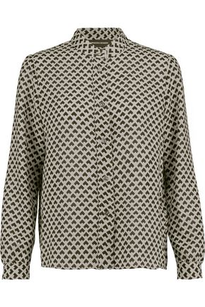 VANESSA SEWARD Intarsia wool shirt