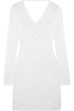 LA PERLA Beyond The Beach crocheted mini dress
